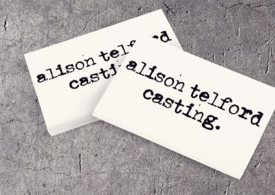 Alison Telford business card