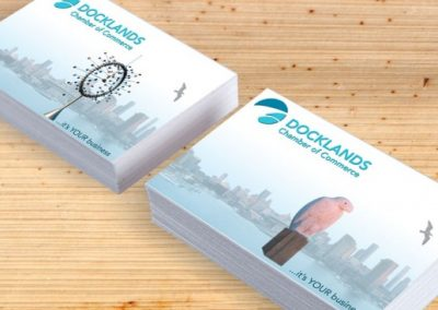 Docklands cChamber of Commerce business cards