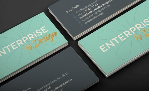 Business cards flux design studio enterprise by design business cards reheart Choice Image