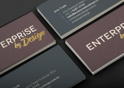 Enterprise by Design business cards