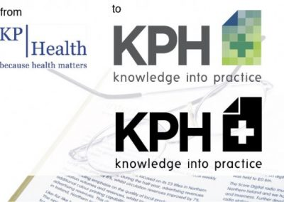 """KP Health"" identity re-design"