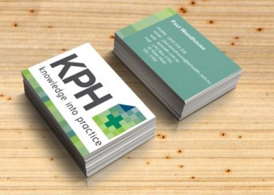 KP Health business cards