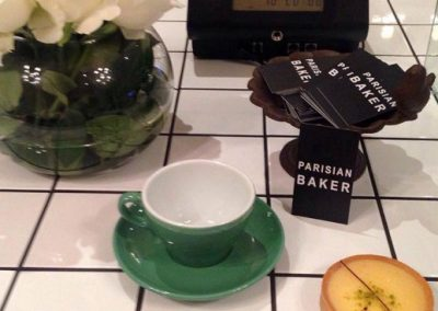 Parisian Baker business cards