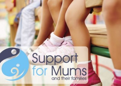 'Support for Mums' identity design