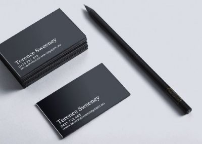 Terence Sweeney business cards