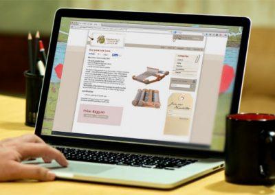 Tasmanian Wool Suppliers website