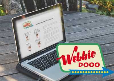 Webbie-Dooo logo on website