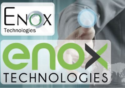 """ENOX Technologies"" identity re-design"