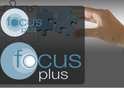 """Focus Plus"" identity re-design"