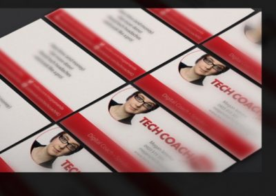 Tech Coach HQ business cards