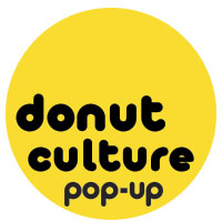 Donut Culture Pop up shop branding